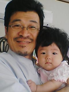 託児つき整体院長と赤ちゃん